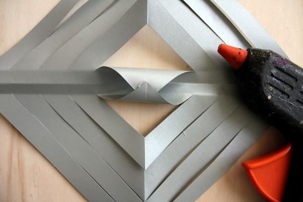 papiersterne basteln leicht gemacht mit kleber