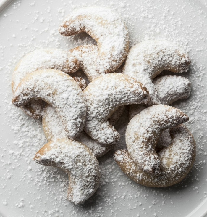 puderzucker vegane plätzchen vanillekipferl backen