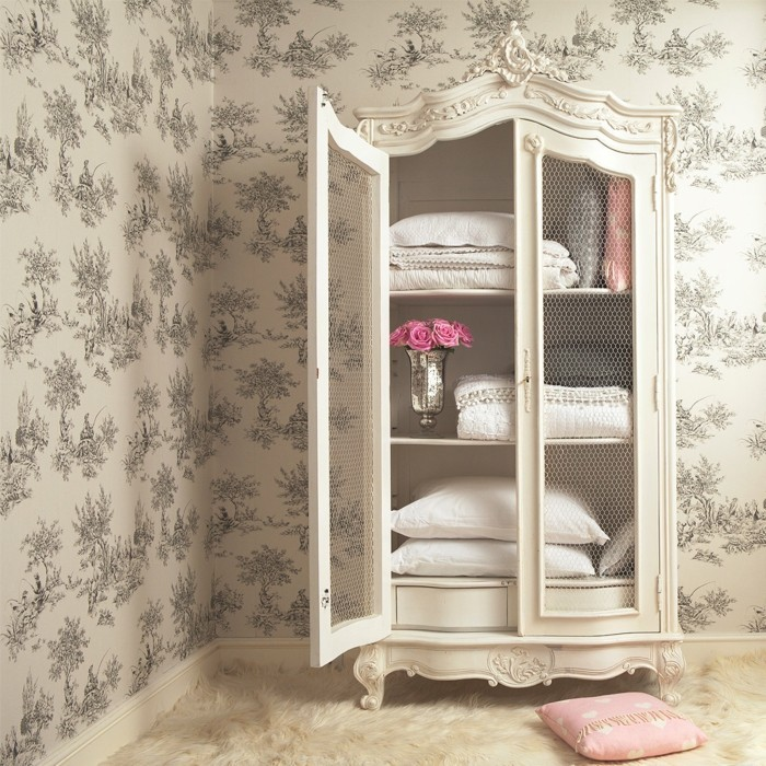 shabby chic m bel 35 innendesigns wo m bel eine wohlf hloase schaffen. Black Bedroom Furniture Sets. Home Design Ideas