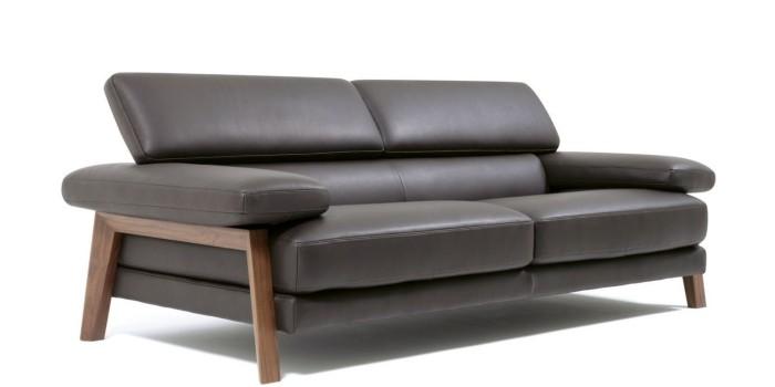 sofa designklassiker dunkle farbe - Innendesign