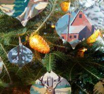 Wie kann man den Tannenbaum schmücken? – 49 Deko Ideen mit Weihnachtsschmuck