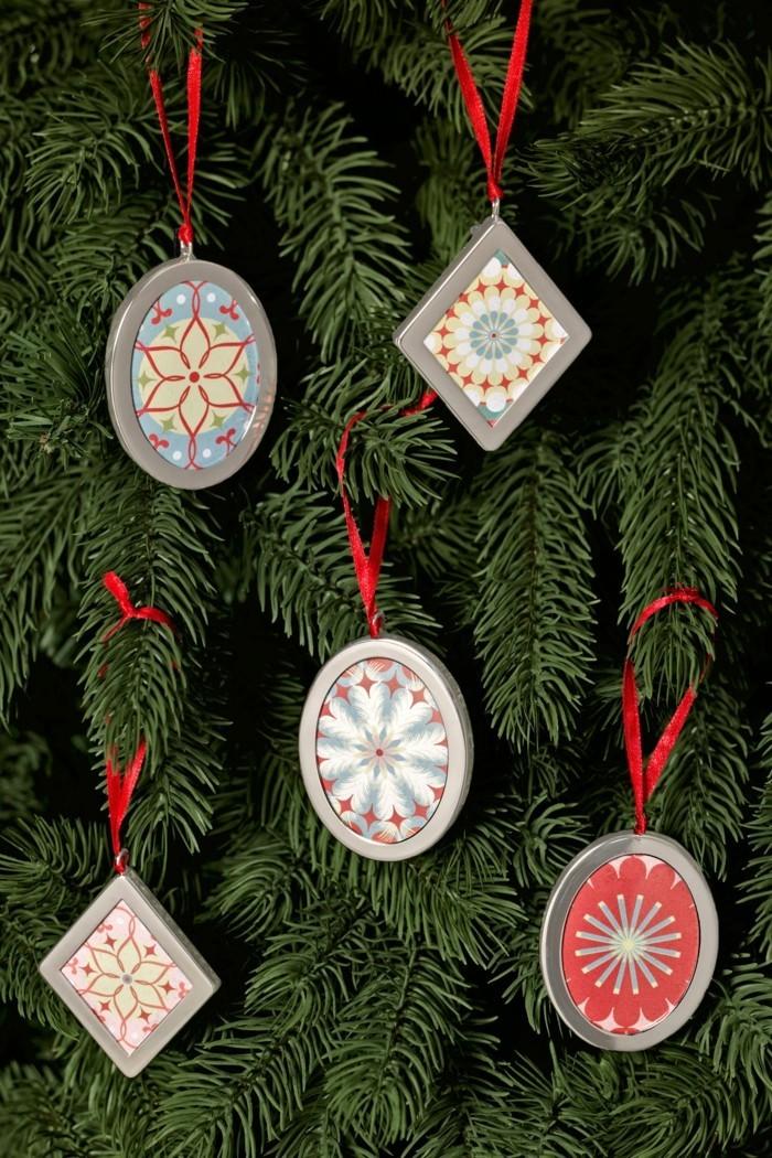 tannenbaum schmuecken deko ideen weihnachtsschmuck handgemacht