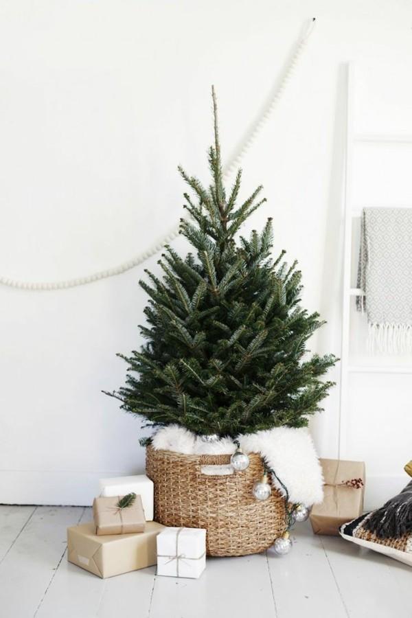 tannenbaum zentralstück weihnachten ideen