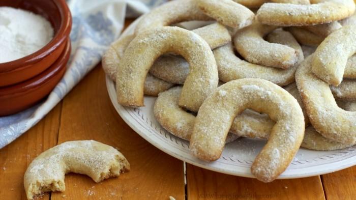 vanillekipferl rezept ohne ei vegane plätzchen backen