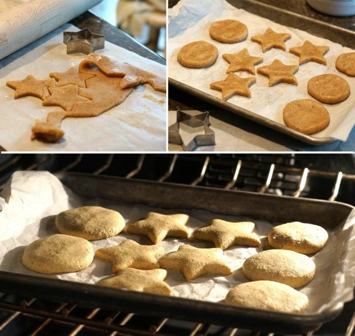 vegan backen einfache kekse backvorgang