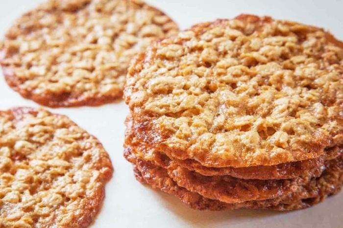 vegan backen einfache kekse mit haferflocken