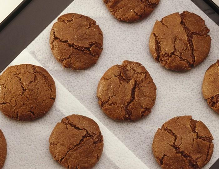 vegan backen einfache kekse mit zimt