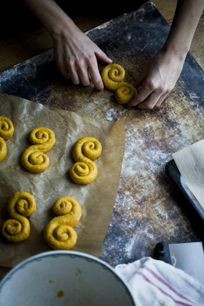 vegan backen einfache kekse schnecken