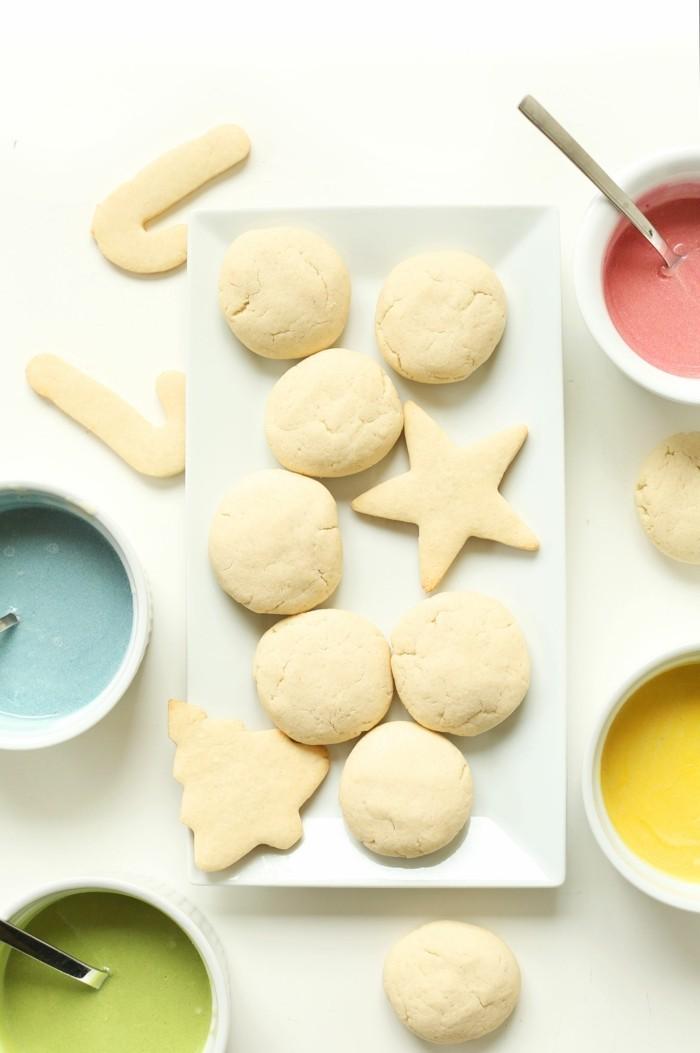 vegan backen einfache kekse