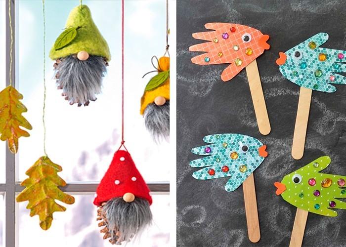 Weihnachtsbasteln Mit Kindern Ideen.Weihnachtsbasteln Mit Kindern 100 Originelle Und Ganz Einfache
