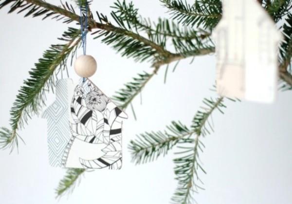 weihnachten ideen tannenbaum schmuck