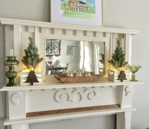 weihnachtliche Dekoration zum selbermachen