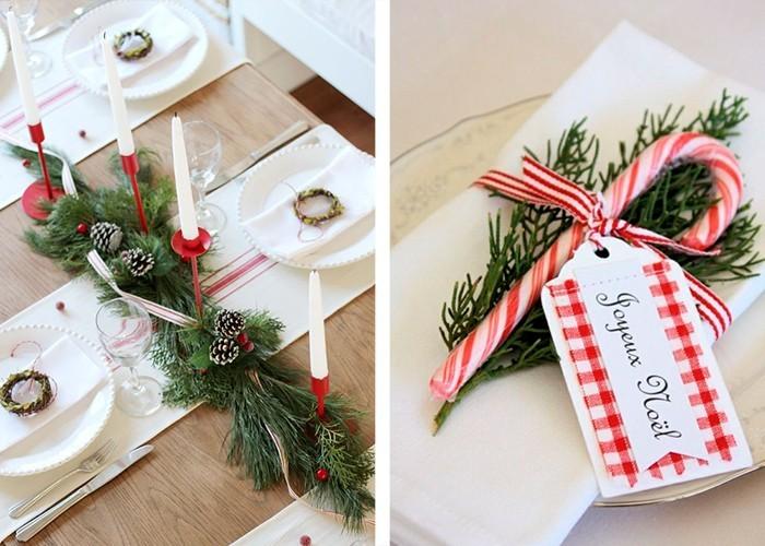 Weihnachtliche Tischdeko 60 Ausgefallene Tischdeko Ideen Zu