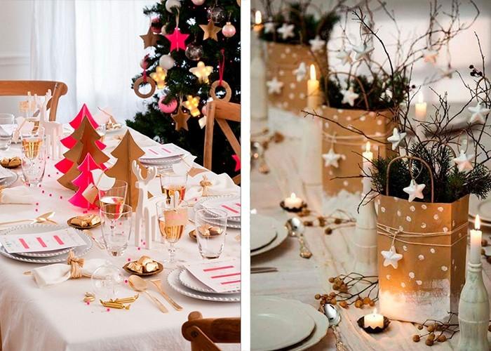 weihnachtliche tischdeko weihnachtssymbole sterne christbaum
