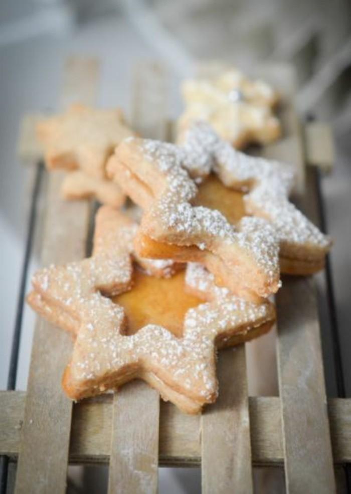 weihnachtsbacken sterne basteln
