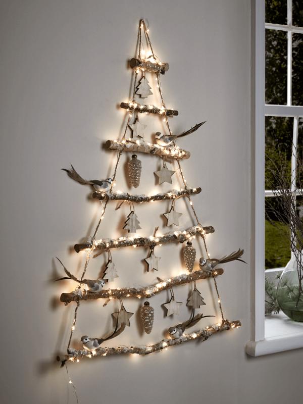 Basteln Mit ästen über 20 diy ideen wie sie einen weihnachtsbaum basteln