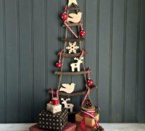 Über 20 DIY Ideen, wie Sie einen Weihnachtsbaum basteln