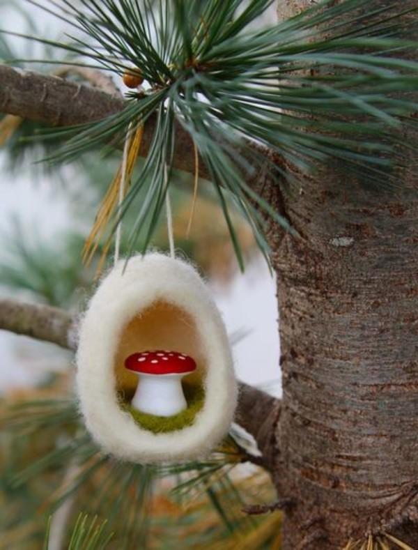 weihnachtsbaumschmuck idee kuschelig