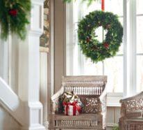 Weihnachtsdeko Fenster – 30 hervorragende Fensterdeko Ideen mit festlicher Stimmung