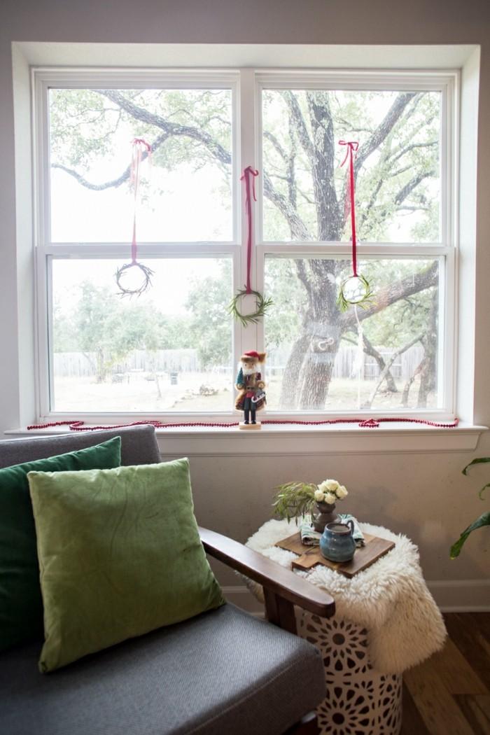 Weihnachtsdeko Fenster U2013 30 Hervorragende Fensterdeko Ideen Mit Festlicher  Stimmung ...