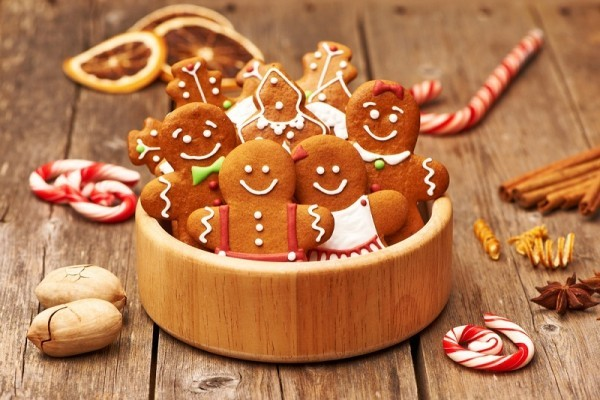 weihnachtsdeko selber basteln lebkuchen backen