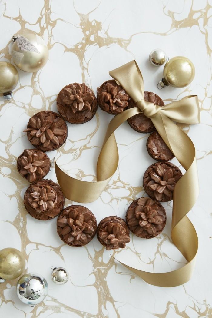 weihnachtsdessert ideen leckere kekse christbaumschmuck