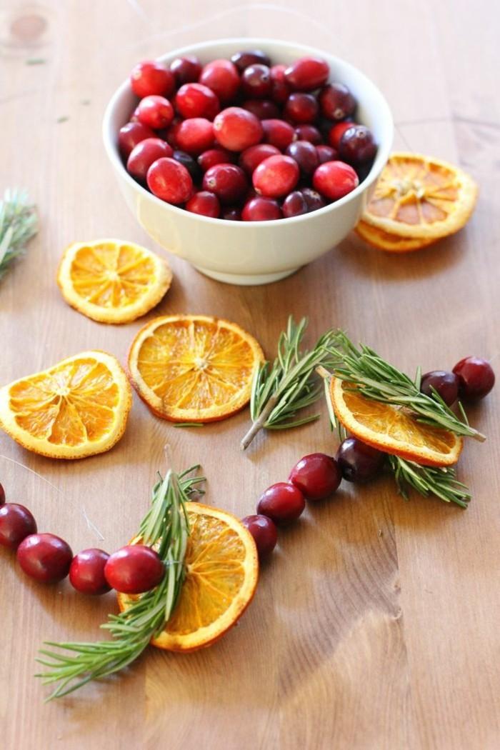 weihnachtsduft selber machen cranberries