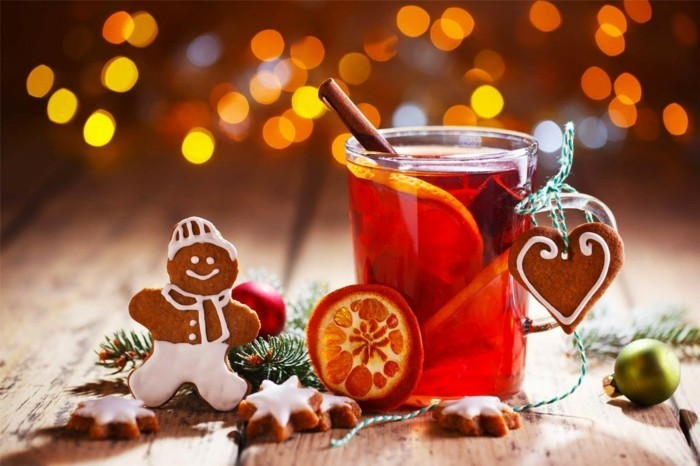weihnachtsduft selber machenn zitrusduft tee gluehwein