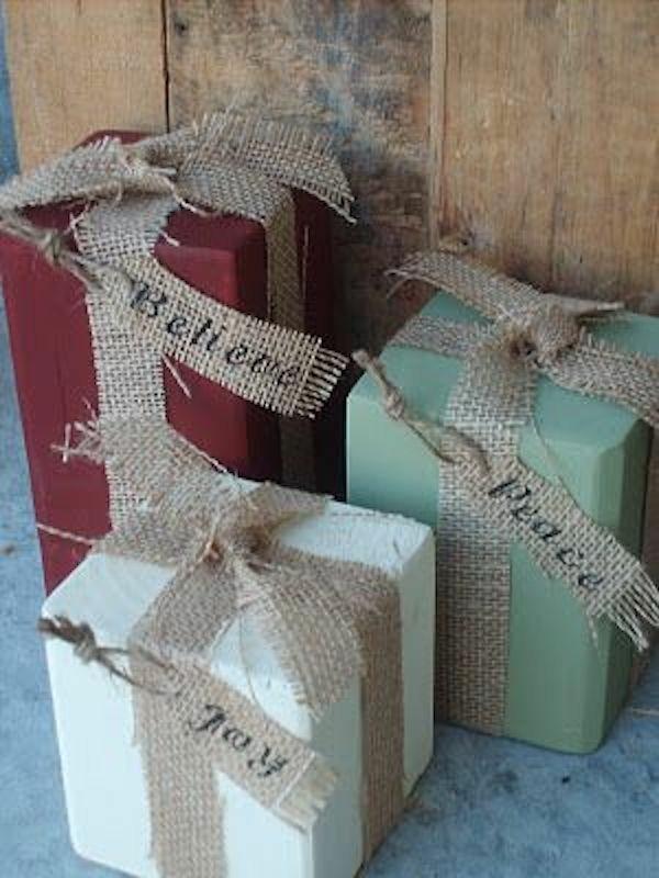 weihnachtsgeschenke diy verpakcungen