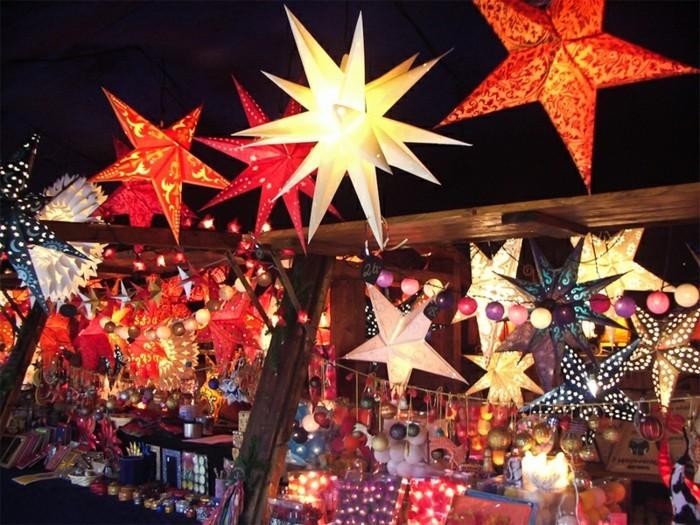 weihnachtsmarkt herrnhuter stern selber basteln anleitung