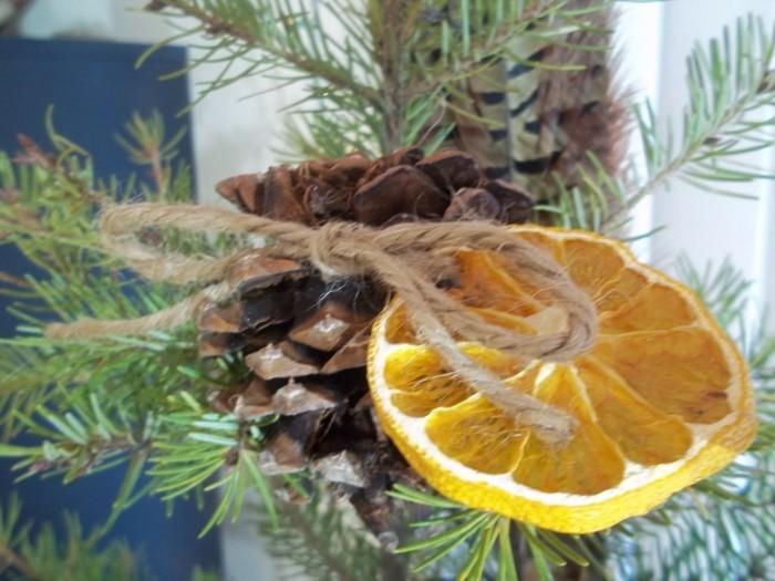 weihnachtsschmuck basteln mit naturmaterialien nachhaltig leben
