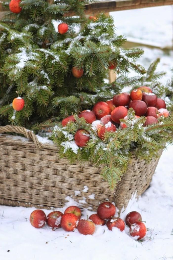 weihnachtsschmuckbasteln mit naturmaterialien opfergabe