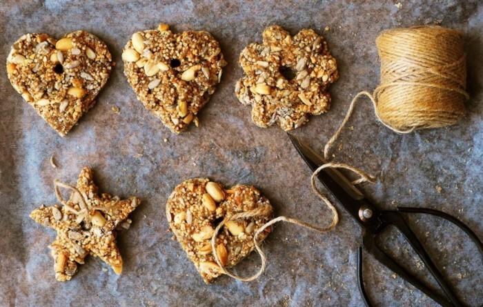 weihnachtsschmuck basteln mit naturmaterialien weihnachtskekse christbaumschmuck kekse