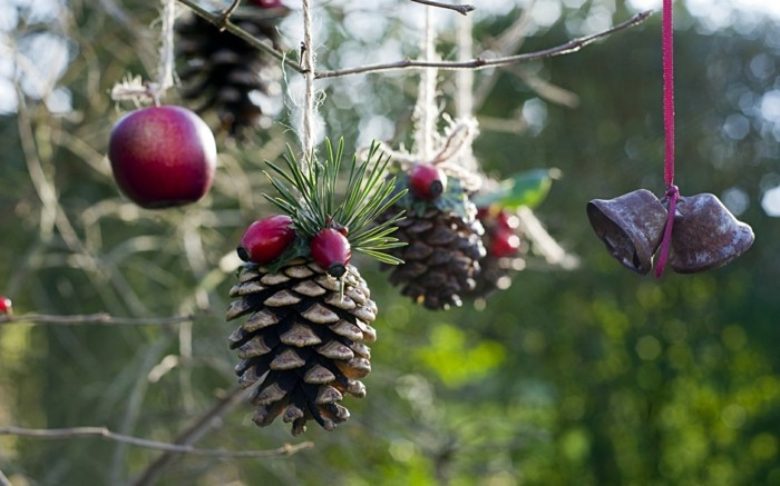 weihnachtsschmuck basteln mit naturmaterialien weihnachtskekse christbaumschmuck symbolik