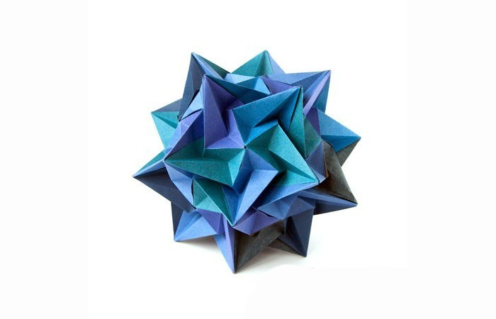 weihnachtsstern blau herrnhuter stern selber basteln