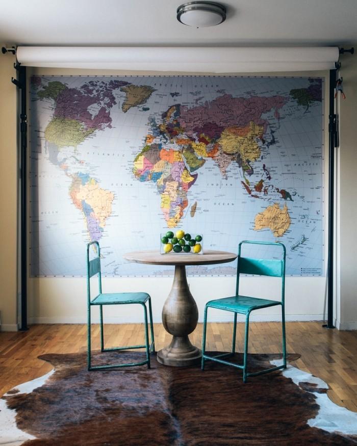 Weltkarte wand 73 beispiele dass weltkarten dynamik in for Ausgefallene wanddeko
