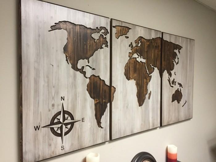 Weltkarte Wand 73 Beispiele Dass Weltkarten Dynamik In Die