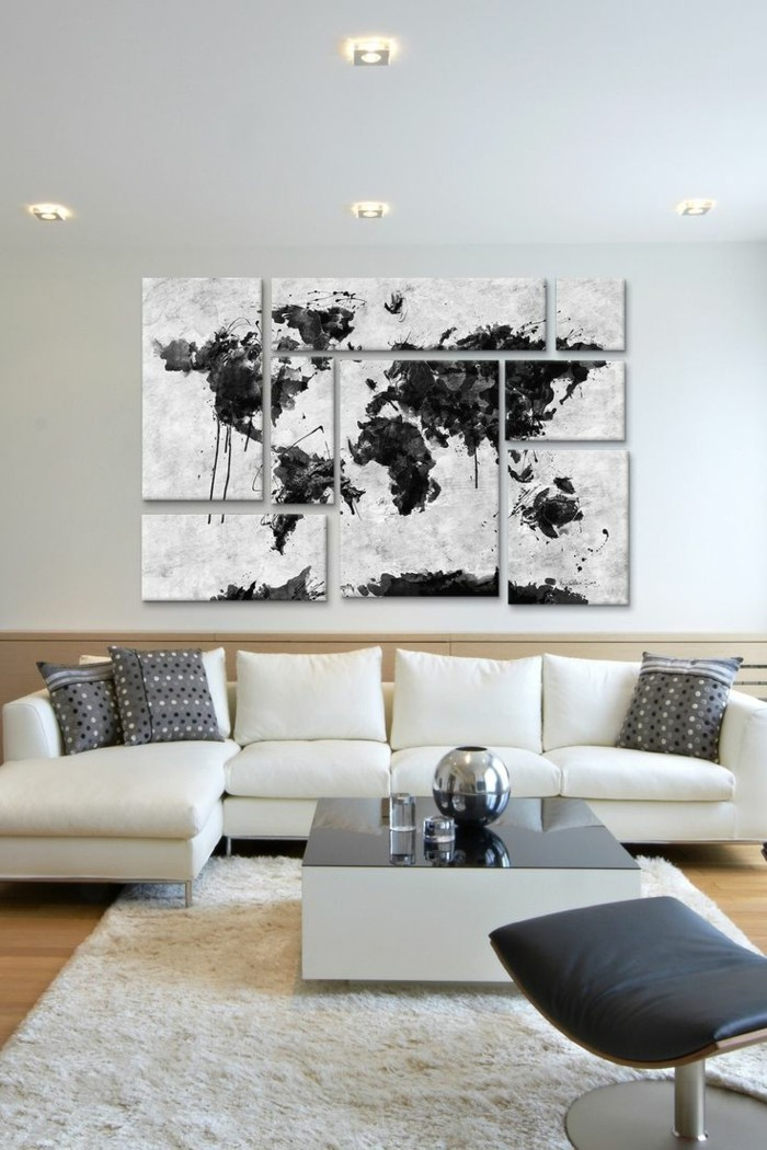 leinwand wohnzimmer cool moderne bilder leinwand moderne. Black Bedroom Furniture Sets. Home Design Ideas