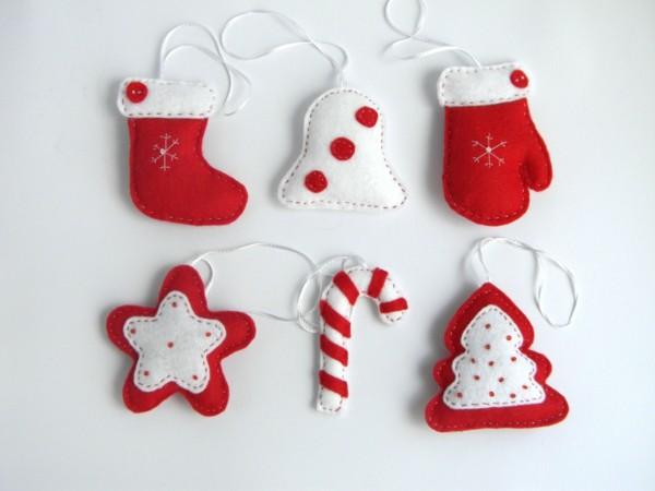 zuckerstangen christbäume sterne weihnachtsdeko selber basteln