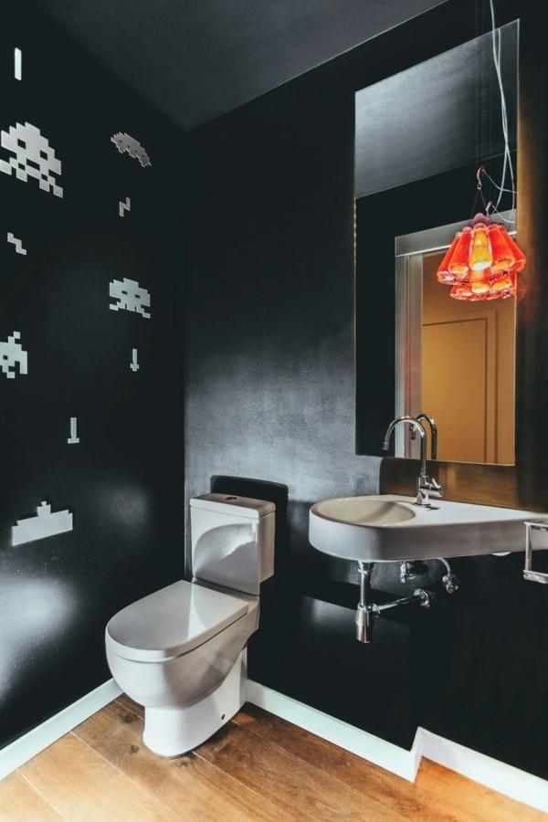 Schwarzes Badezimmer: 5 Vorteile Und 50 Ideen ...