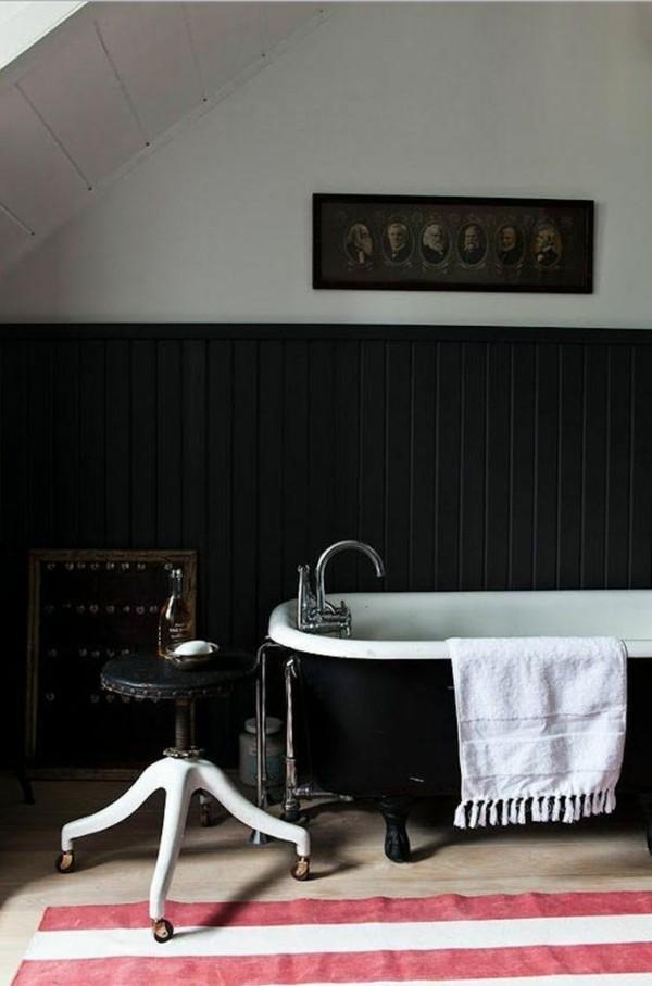 Badezimmerdesign mit Mustern
