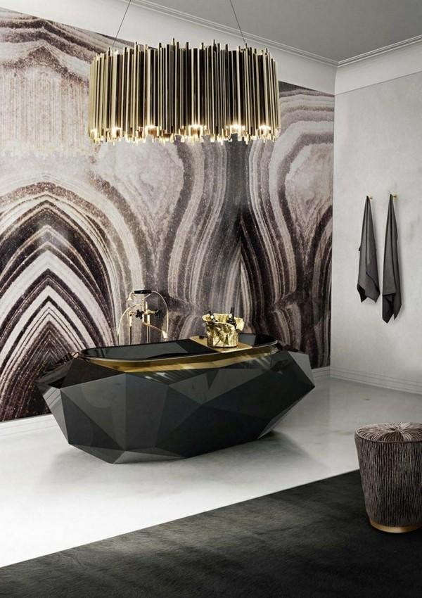 Badezimmerdesign neutrale Farben