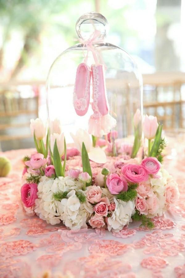 Blumen korb Kinderparty deko