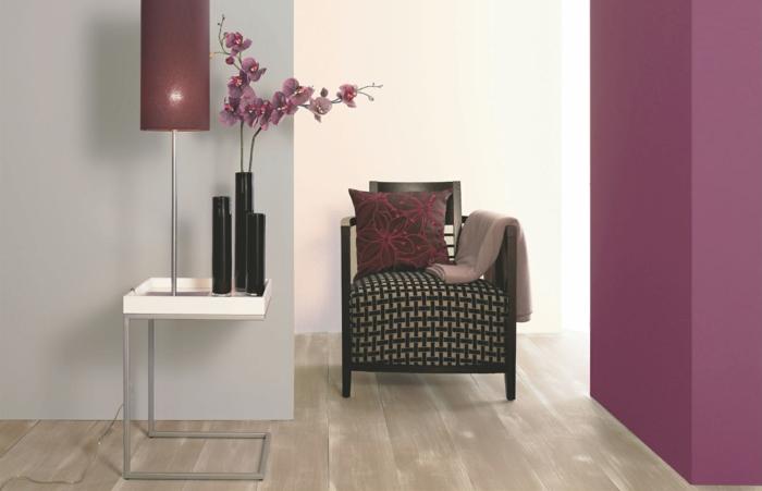 bordeaux farbe und ihre wirkung im bezug auf raumgestaltung. Black Bedroom Furniture Sets. Home Design Ideas
