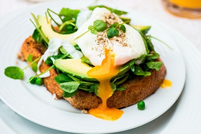 Eier gesunder Snack nicht viele Kalorien enthalten