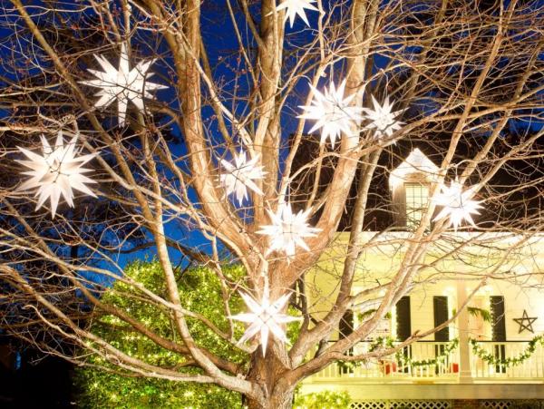 Exzessive Weihnachtsbeleuchtung