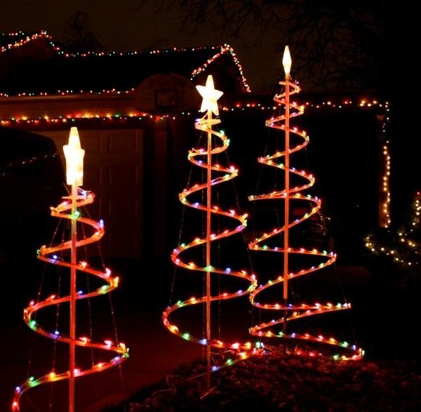 Figuren Weihnachtsbeleuchtung