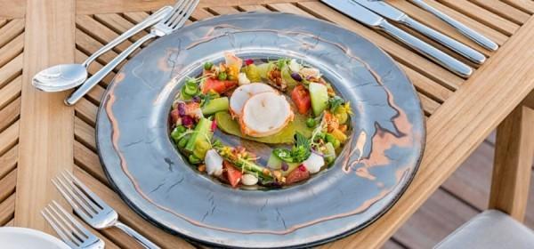 Fisch frisches Gemüse gesund essen Urlaub Malediven