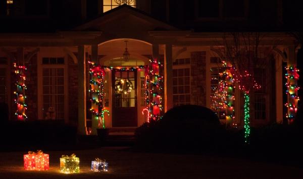 Geschenke Weihnachtsbeleuchtung