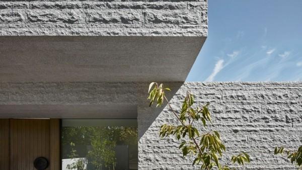 Granitplatten Fassadenplatten Überdachung Söpiel